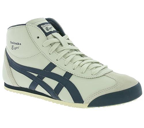 44863d01932b8 Onitsuka Tiger Mexico Mid Runner Calzado birch indian ink  Amazon.es   Zapatos y complementos