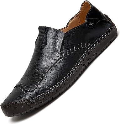 Genuine Leather Shoes Men Moccasins