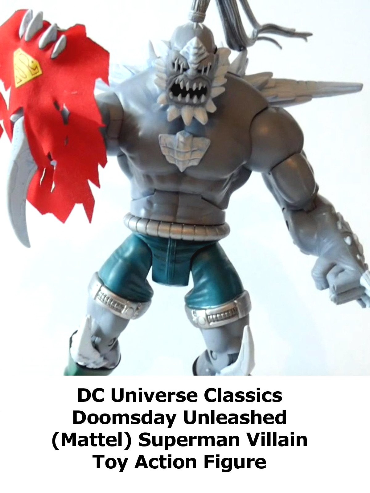 Watch Review Dc Universe Classics Doomsday Unleashed Mattel