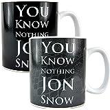 Game of Thrones 400ml Heat Change Mug - Jon Snow
