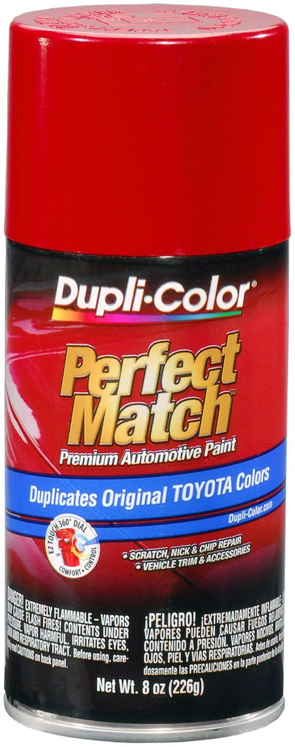 Amazon.com: Dupli-Color BTY1560 Super Red II Toyota Exact-Match ...