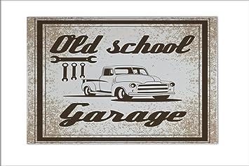 Kachel Voor Garage : Fliese kachel werkstatt motiv old school garage keramik bedruckt