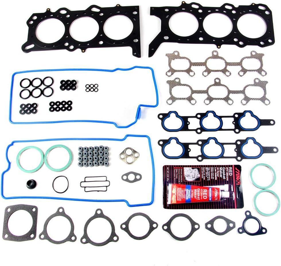 SCITOO Head Gasket Set Replacement for Suzuki Grand Vitara 2.7L 01 Engine Gasket Kit