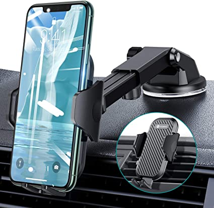Smartphone Holder Universal Cell Phone Holder for Car Dashboard Car Phone Mount iPhone Samsung All Smartphone