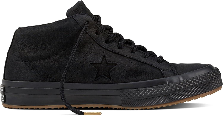 Converse - One Star Mid - Black/Black