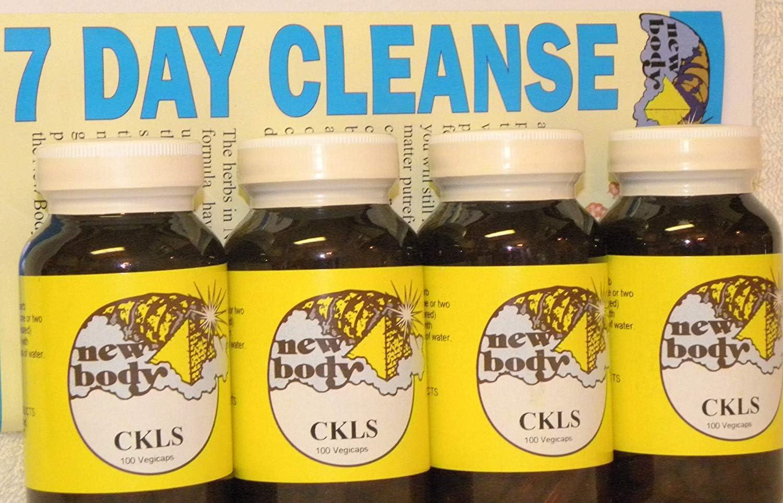 CKLS Colon Cleanser Herbal Formula-Quad pack 4