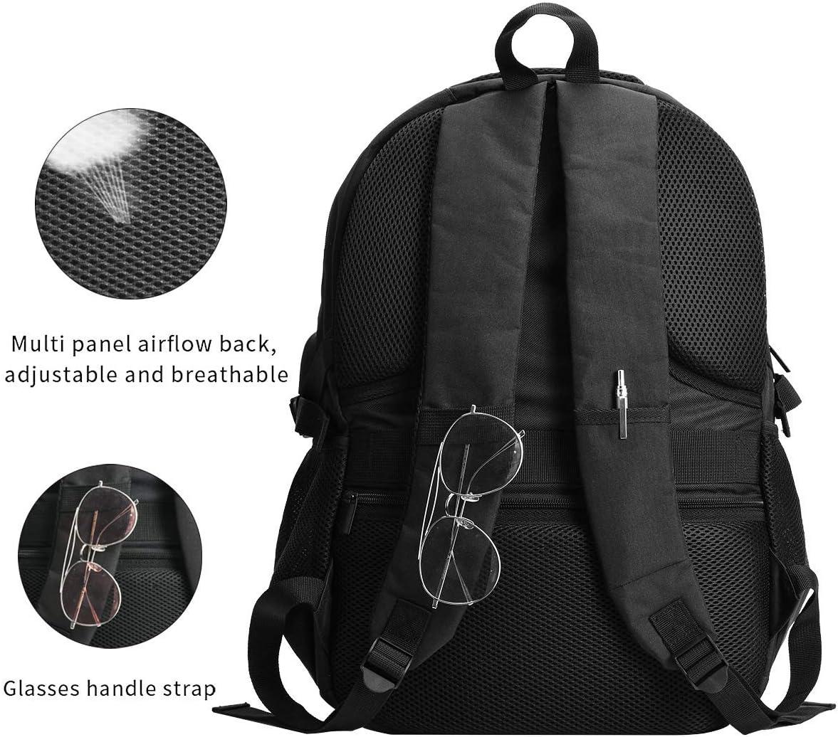Games Hyperdimension Neptunia Backpack Travel Laptop Backpack with USB Charging Port Headphone Interface College Bookbag for Women Men Boys Business Travel Anti Theft Backpack