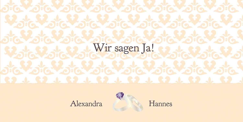 Kartenparadies Hochzeitskarte Einladung Ornament mit Herz, hochwertige hochwertige hochwertige Einladung zur Heirat inklusive Umschläge   10 Karten - (Format  215x105 mm) Farbe  Rosadunkellila B01MR87U25 | Gutes Design  | Verkauf  | Günstigstes  83a7cf