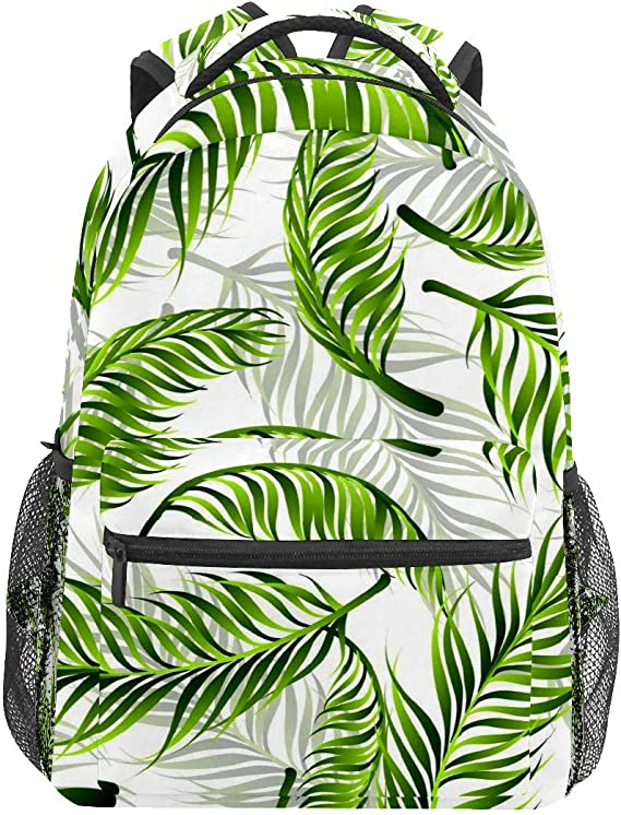 Hand Drawn Christmas Trees And Houses School Backpack Laptop Backpacks Casual Bookbags Daypack for Kids Girls Boys and Women