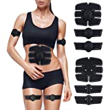 EMS腹筋 ベルト 筋トレ Yoolaite 腹筋トレーニング 筋トレ 自動的に筋肉トレーニング 男女兼用 USB充電式 ダイエット