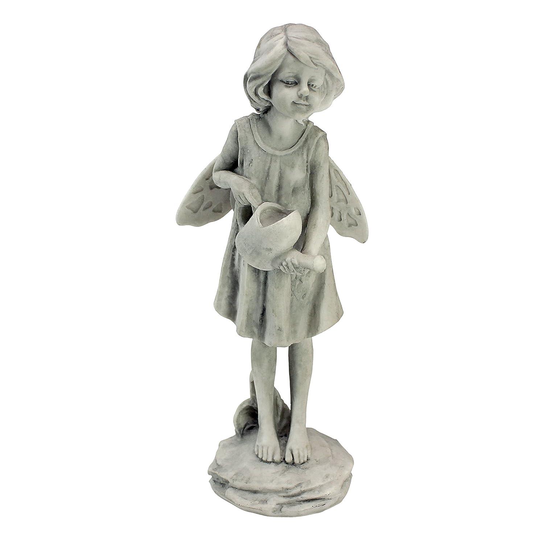 Design Toscano Rose Garden Fairy with Basket Statue SH9403614