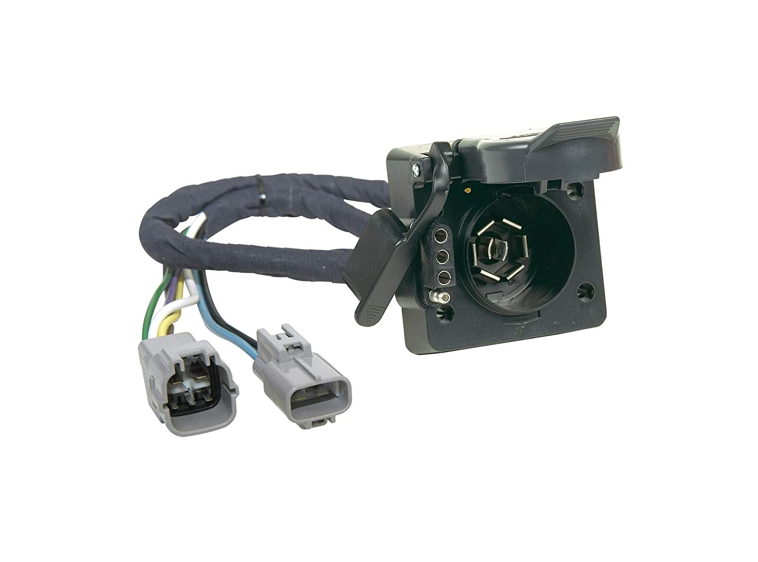 Connector Wiring Connection For Trailer Hitch Tow Towing Curt 55243