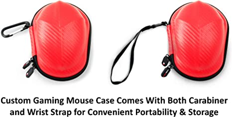 Amazon.com: Casematix Gaming Mouse Travel Case Compatible ...
