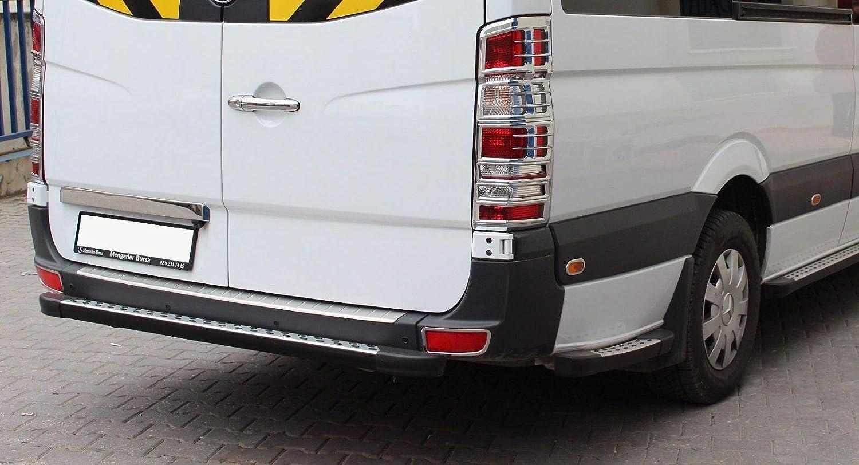 Juego de cubiertas para llantas de luz trasera de ABS cromadas para Sprinter [2006 – 2017] [2 unidades]: Amazon.es: Coche y moto