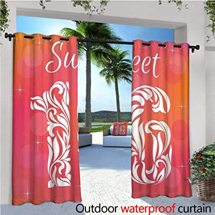 Amazon com : cobeDecor 16th Birthday Exterior/Outside