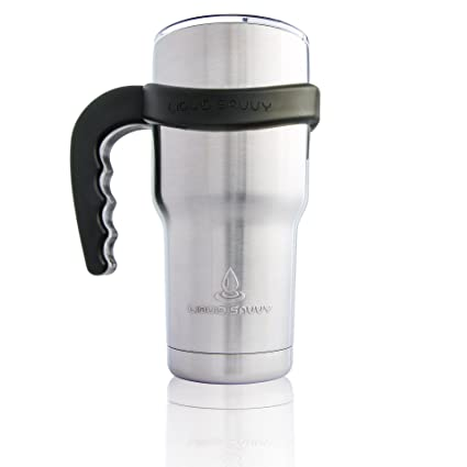 31580a70121 Handle for 30 oz Stainless Steel Tumbler, Thermos, Cup with Thumb and  Finger Grips