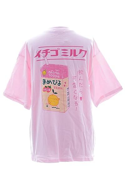 Kawaii-Story - Camiseta - para Mujer Rosa Rosa Talla única