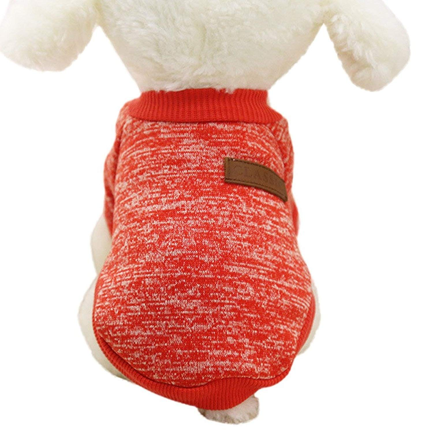 Wakeu Pet Supplies Pet Clothes for Small Dog Girl Dog Boy Soft Warm Fleece Clothing Winter