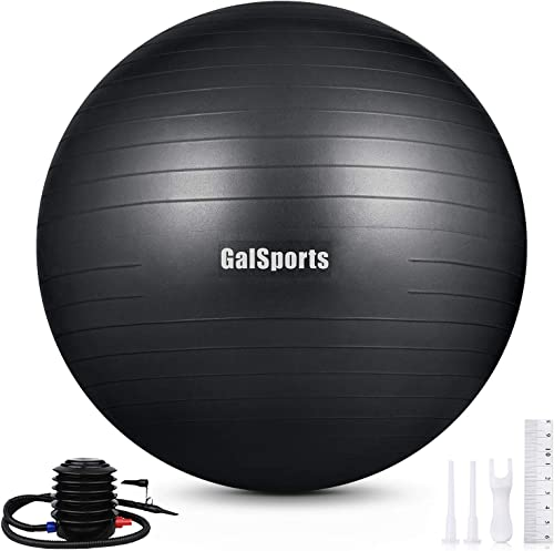GalSports Exercise Ball 45cm-75cm