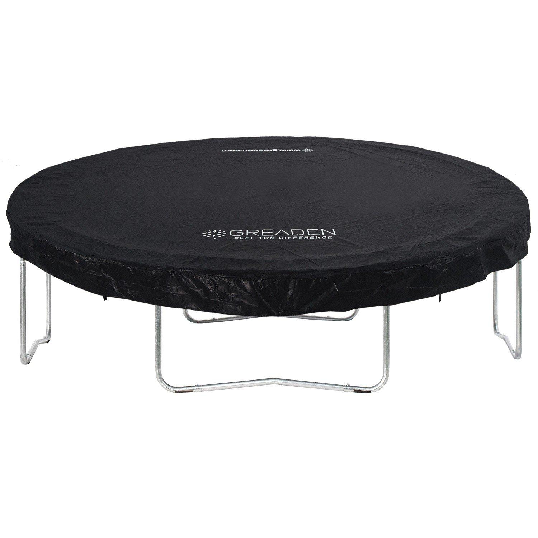 Greaden - Funda/lona de protección de PVC negro para camas ...