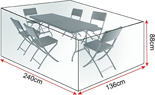 WOLTU GZ1194tp Coperture per Tavoli Sedie Mobili da Giardino