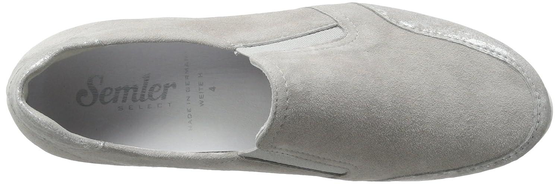 Semler Womens Leather Slipper US 8.5 UK 6 EU 39 Grey