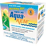 Aqua-Kem Morning Sky RV holding tank treatment - deodorant | waste digester | detergent - 8 oz, Thetford 96127 (Pack of…