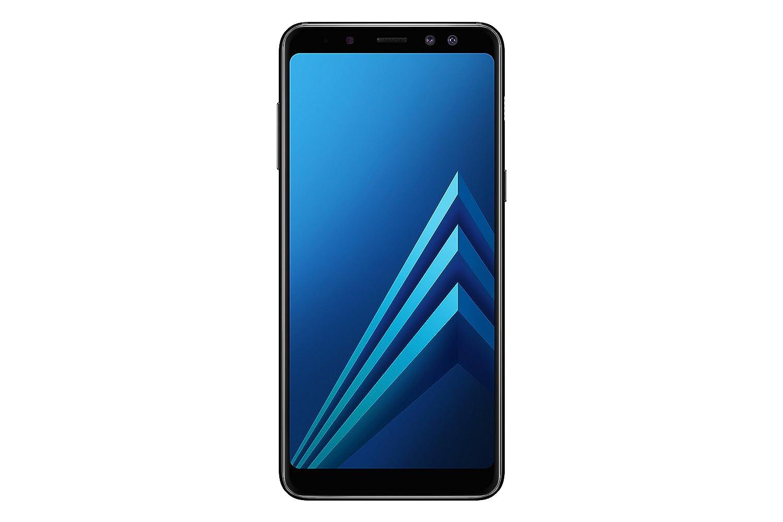 三星Galaxy A8(2018)智能手机,黑色,可扩展32GB,Dual sim [英文版]