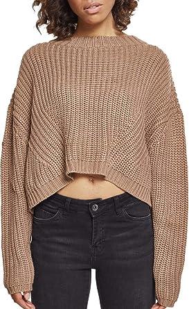 Urban Wide black Noir X Shirt Oversize Ladies Classics 00007 Sweater Femme small rqf7Er