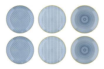 nouveau concept ac45f 2bd83 Bjorn Assiette Plate Ø26cm - 6 pièces - Collection Eclipse ...
