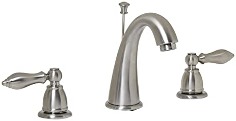 Amazon.com: Design House 545681 Hathaway Widespread Lavatory Faucet on moen faucets, bathroom faucets, chrome faucets, antique silver faucets, stainless steel faucets, kitchen faucets, brushed nickel fittings, brushed nickel handles, brushed nickel tub, brushed nickel sink, brushed nickel finish, brushed nickel tables, brushed nickel microwave, brushed nickel toilet seats, brushed nickel vents, brushed nickel paint, brushed nickel countertops, brushed nickel refrigerators, brushed nickel bathroom, bronze faucets,