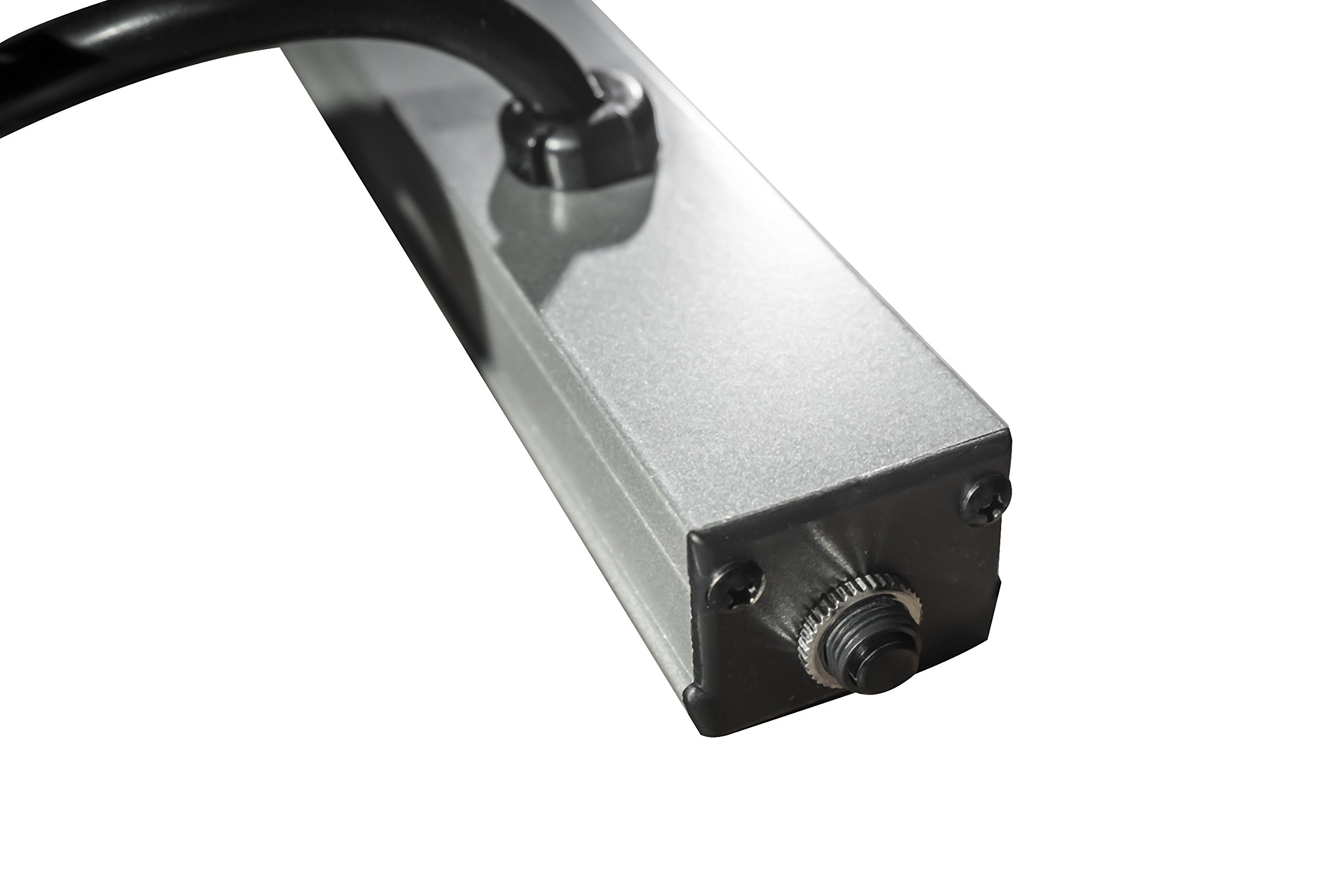 Brooks Power Systems SL20-48-16-6 Slim Line Series Multiple Outlet Strip for Use In Electronic Cabinets, Work Benches, Lab Tables & OEM Applications, 16 Outlets, 6 Foot Cord, Gray by Brooks Power Systems (Image #2)