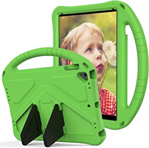 Ultra Slim Case For Kids Case for New iPad 2017/2018 9.7 inch Case,for Kids Eva Shockproof Lightweight Dropproof Stand Tablet Case,With Large Handle Rugged Protective Case,With Pen slot Tablet Back Co