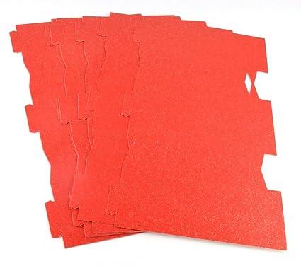 10 tarjeta roja y dorado llena este tubo propio petardos Gms ...