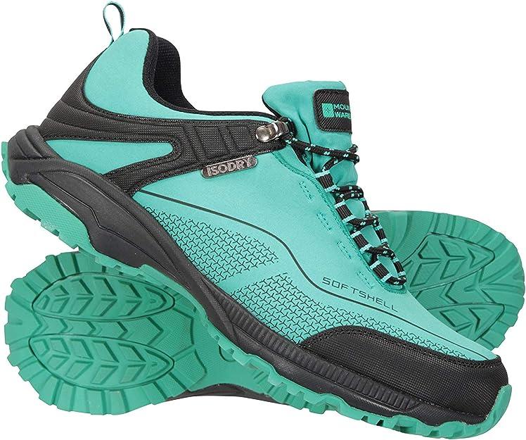 Mountain Warehouse Chaussures imperméables Collie pour Femmes Légères, Respirantes, Chaussures de randonnée Douces idéales pour la Marche et la