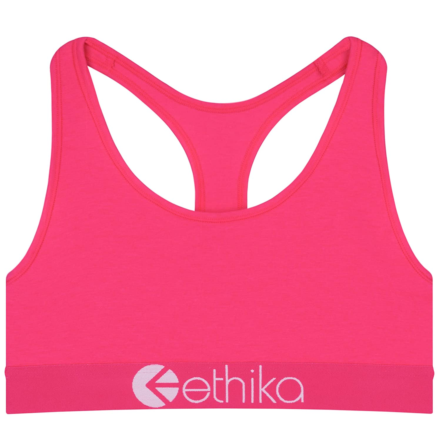 Ethika Womens - The Sports Bra Punk Pink at Amazon Women s Clothing store
