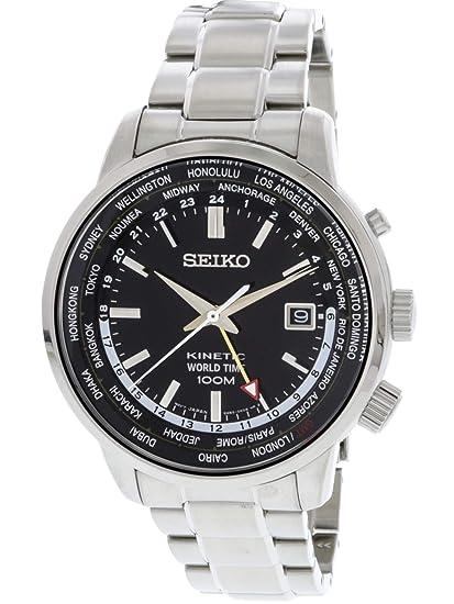 Seiko De los hombres Seiko Kinetic World Time Reloj SUN069P1