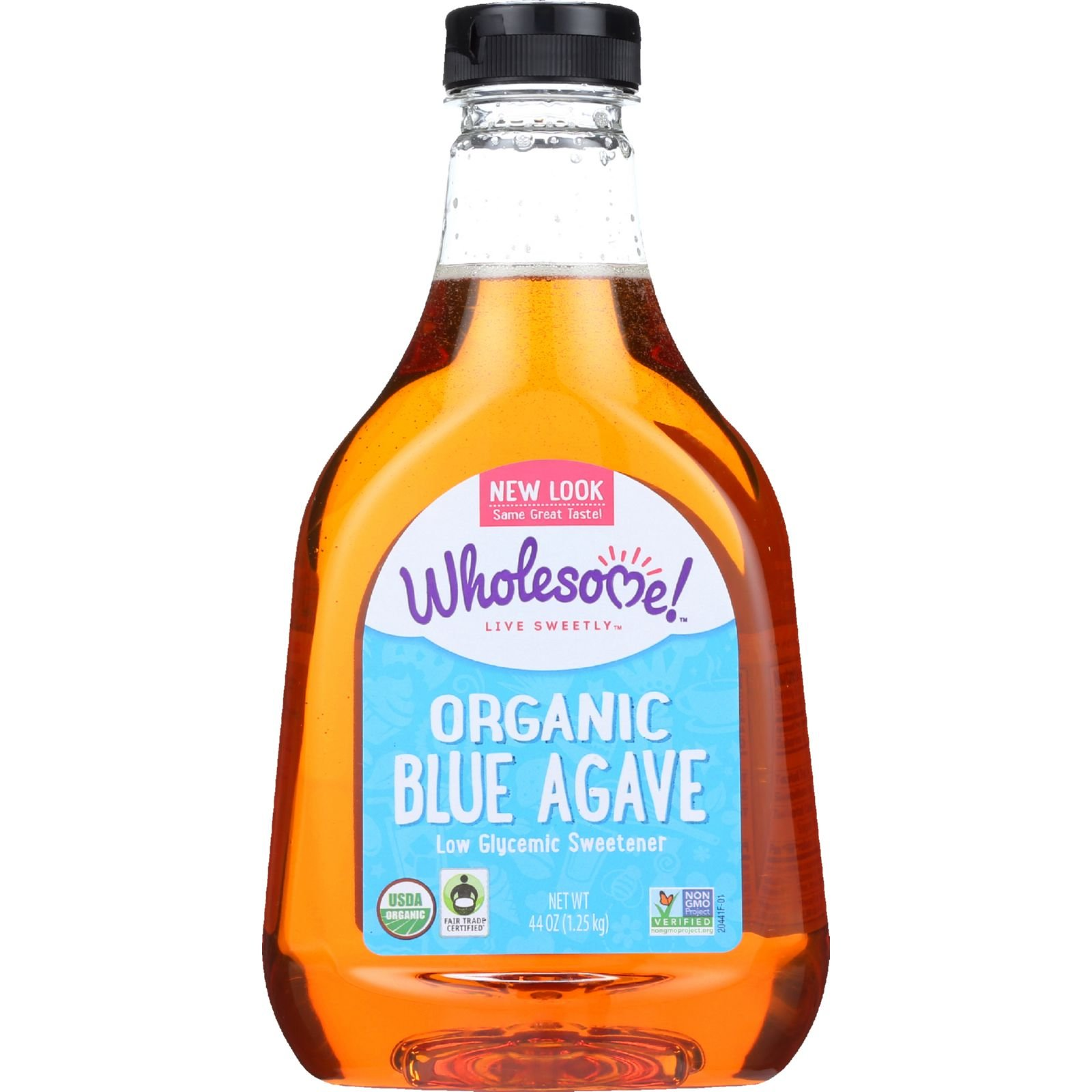 Wholesome Sweeteners Blue Agave - Organic - 44 oz - case of 6 - Gluten Free - Low Glycemic Sweetener by Wholesome Sweeteners (Image #1)