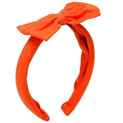 D chica Big Bow Orange Hairband for Girls - (Size  - Free 050a7c55fe4