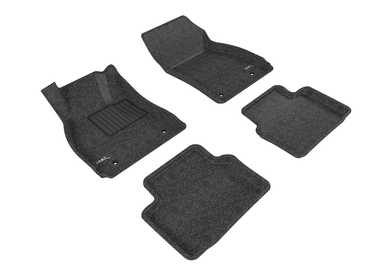 Tan 3D MAXpider Front Row Custom Fit All-Weather Floor Mat for Select Buick Regal Models L1BC02612202 Classic Carpet