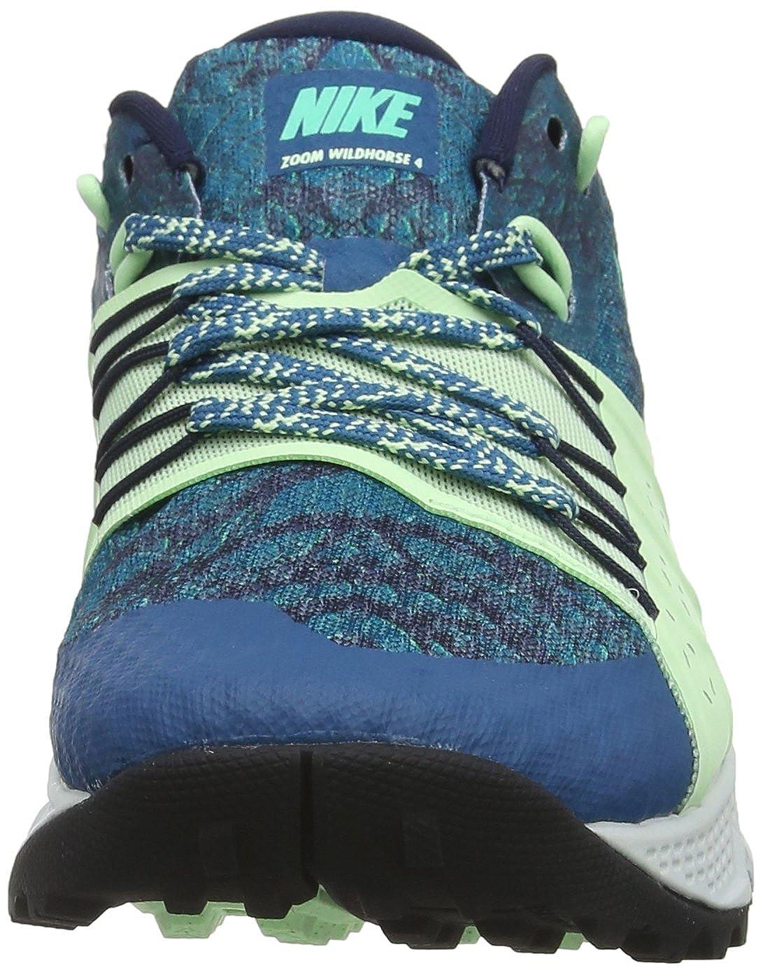 c4739ee198c2 Nike Women s Air Zoom Wildhorse 4 Running Shoe Green Abyss Menta-Obsidian-Vapor  Green 9.0  Amazon.in  Shoes   Handbags