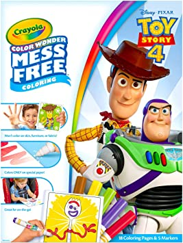 Crayola Color Wonder Coloring Book Pages & Markers, Mess ...