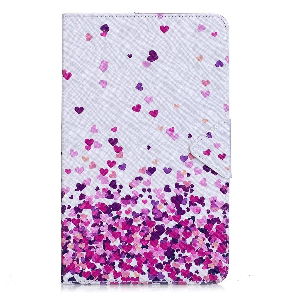 Chica Mariposa DETUOSI Funda Tablet Samsung Galaxy Tab A 10.1 Ultra Slim Funda de PU Cuero Smart Cover Case Carcasa con Funci/ón del Soporte y Ranuras de Tarjetas para SM-T580//SM-T585