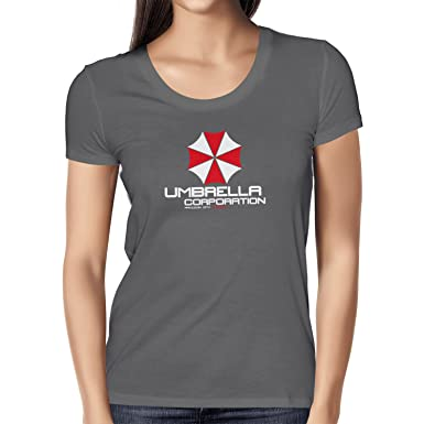 Texlab Umbrella Corporation - Damen T-Shirt, Größe S, Asphalt