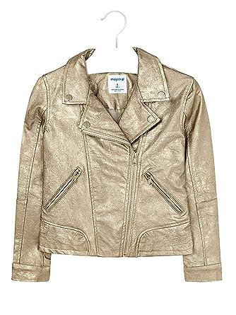 308582352 Amazon.com  Mayoral - Leather Jacket for Girls - 6410