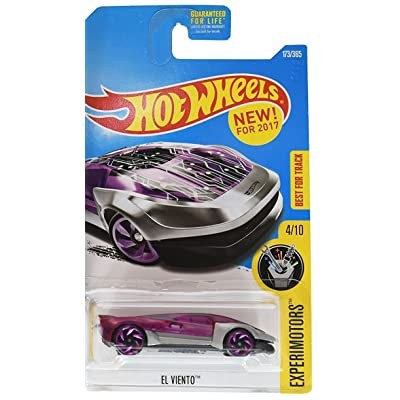 Hot Wheels 2020 Experimotors El Viento 173/365, Chrome and Purple: Toys & Games