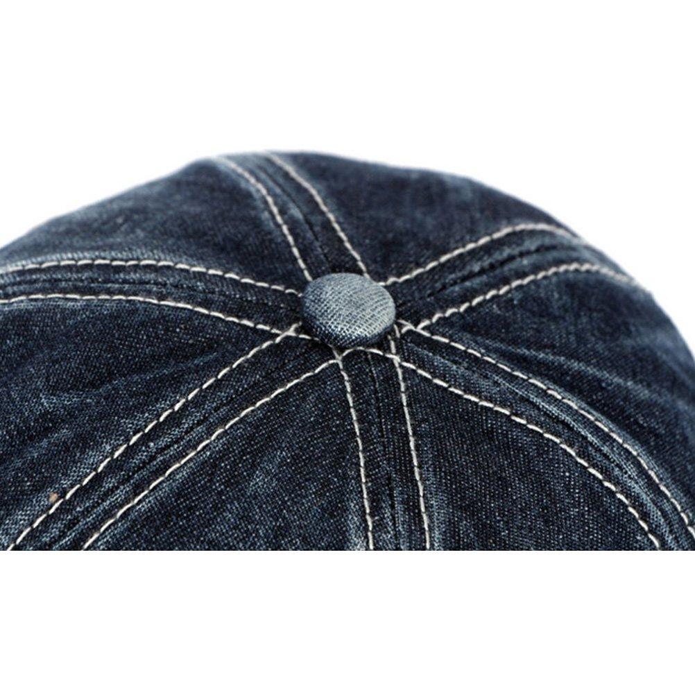 999dc6215 Zhhlaixing Outdoor Sports Unisex Baseball Cap Adjustable Denim Hats Sun Hat  CQ0546  Amazon.co.uk  Clothing