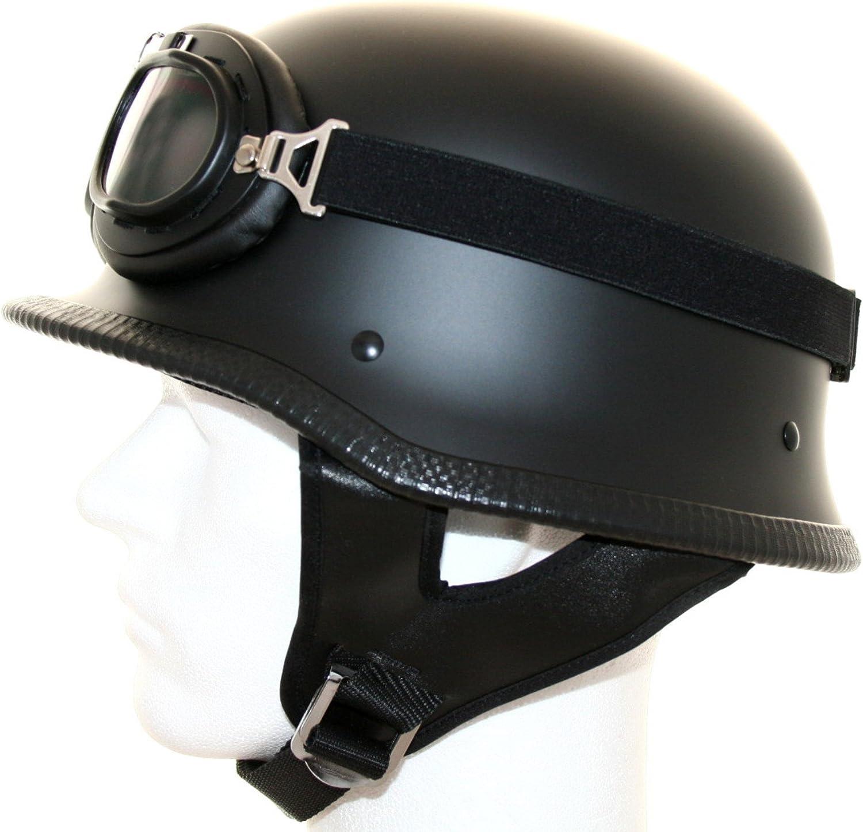 Ato Casco Para Moto Diseño Retro Con Gafas De Aviador Ropa Y Accesorios De Protección Motos Accesorios Y Piezas