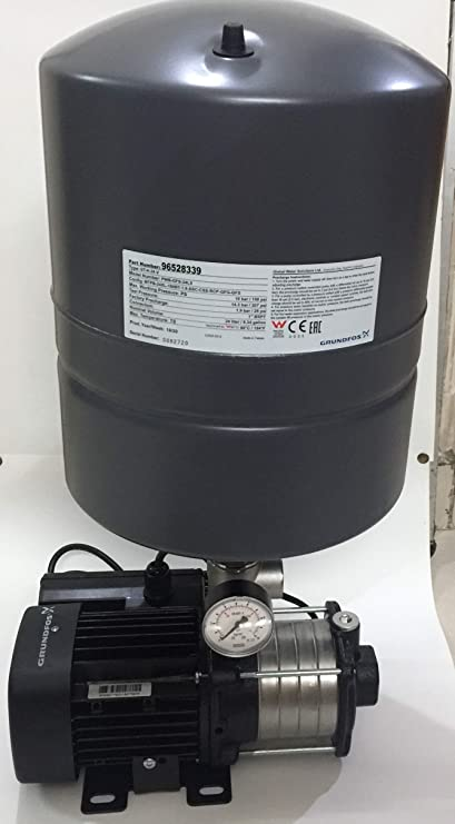 Grundfos Pressure Booster Pump Suitable for 2-3 Bathroom CMB with Tank