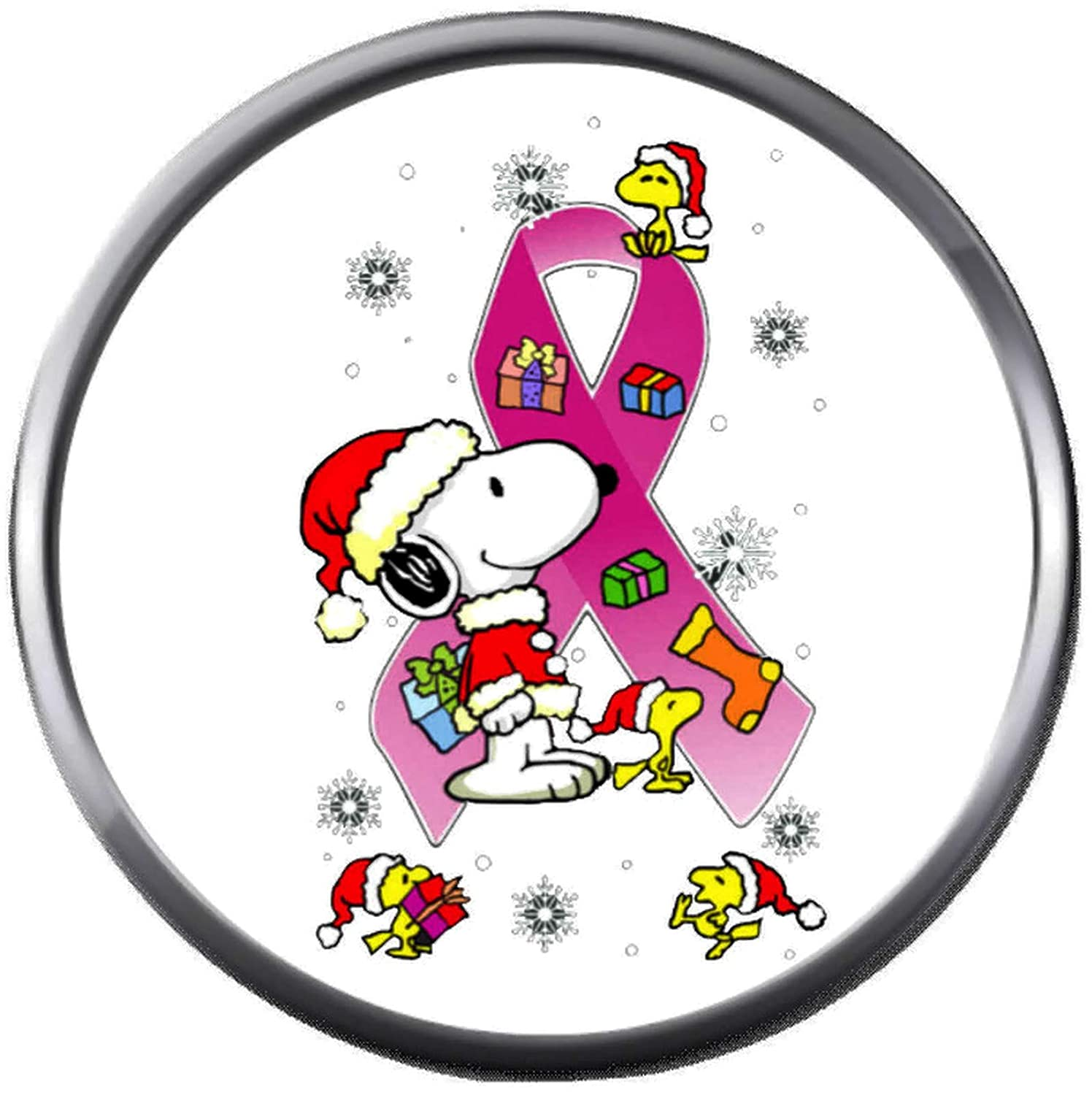 Snoopy And Woodstock Christmas Images.Amazon Com Snoopy Woodstock With Pink Ribbon Breast Cancer